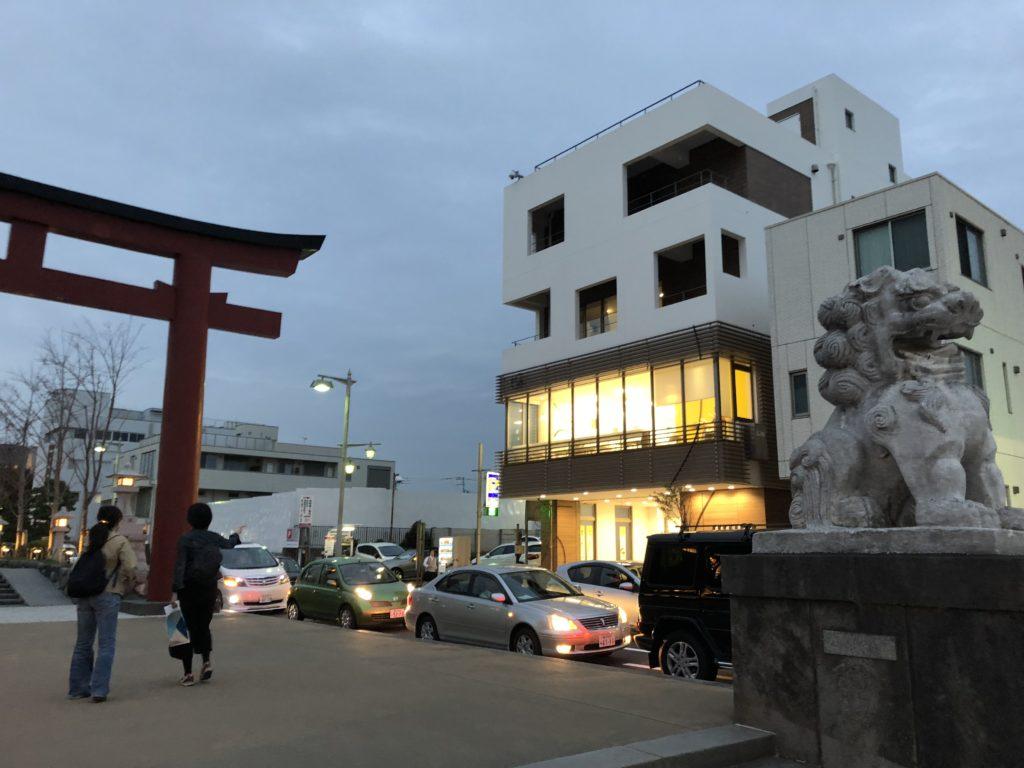 豊島屋洋菓子舗置石
