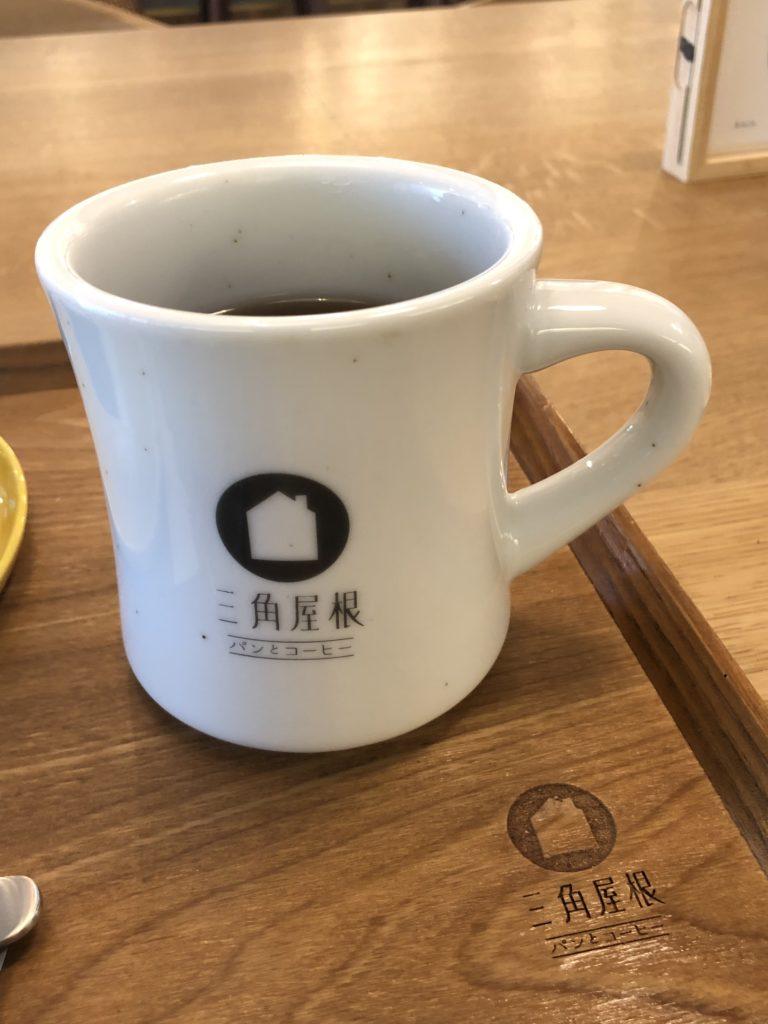 葉山 三角屋根 パンとコーヒー コーヒー