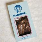 マーロウ 冬季期間限定チョコレートビスコッティ☆アーモンドとベルコラーデチョコレートが美味☆