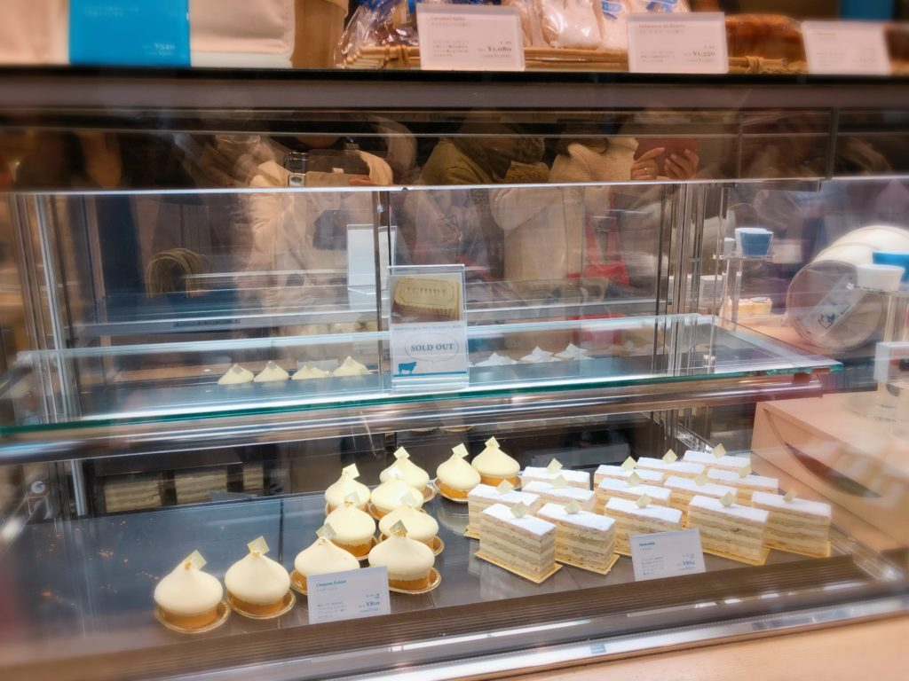 エシレ丸の内 ケーキ 種類